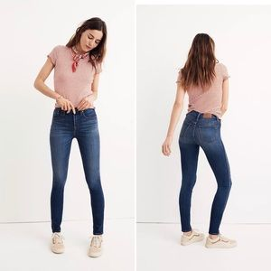 Madewell | High Riser Skinny Jeans Size 24